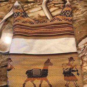 Handbags - Llama shoulder bag from travels in Bolivia